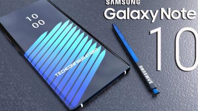 Galaxy Note 10 leak 1170x610 390x220 - سامسونج ستطلق جوال جالكسي نوت 10 مع شاشة بحجم 6.66 إنش بدقة 4K