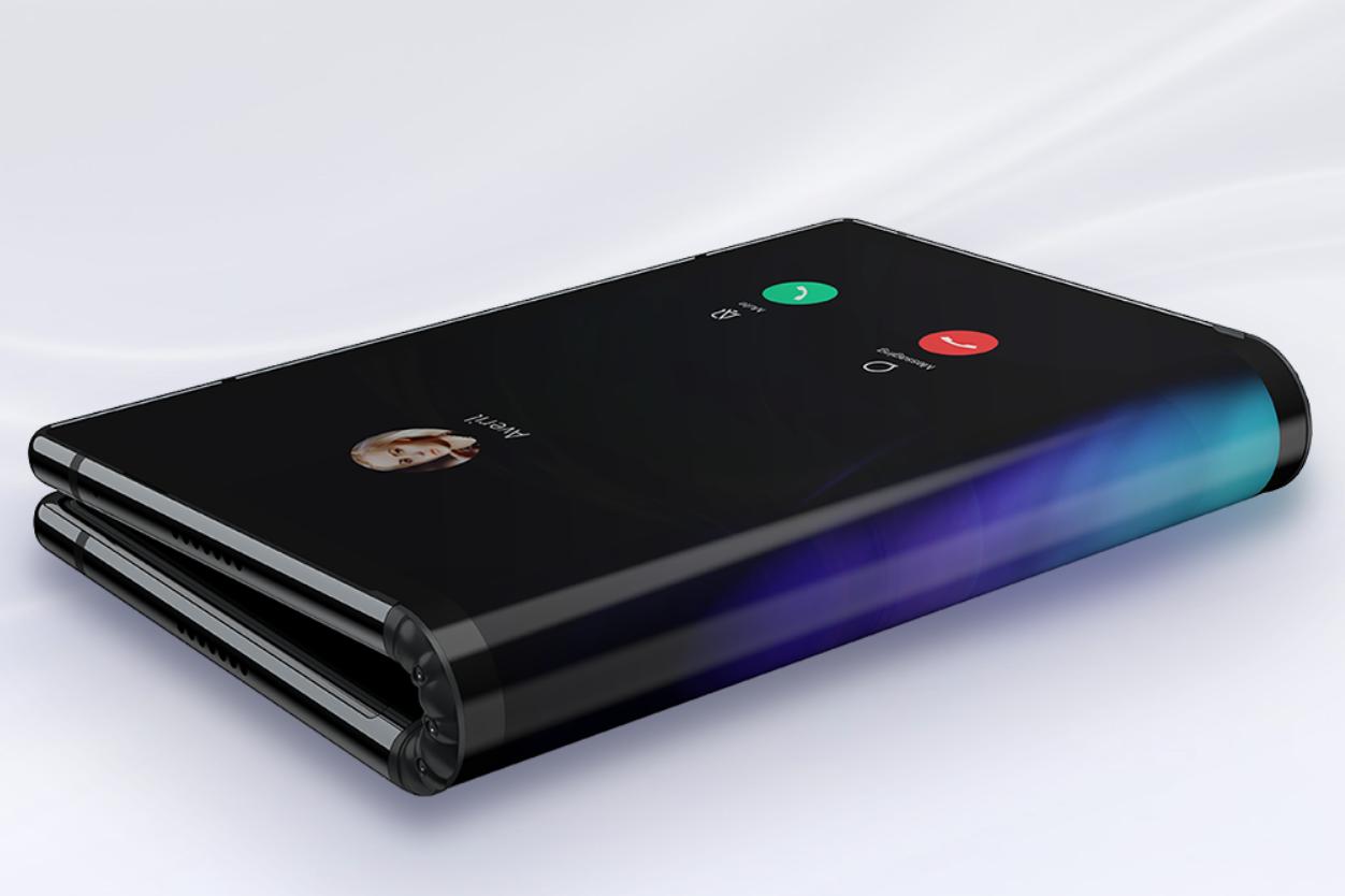 Royole FlexPai foldable smartphone - إطلاق أول هاتف في العالم قابل للطي Royole FlexPai مزود بمعالج Snapdragon 8150