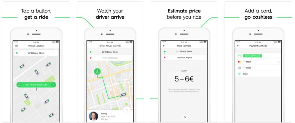 Screenshot11 - تطبيق تاكسي فاي Taxify يتيح لك طلب سياره لتوصيلك لأي موقع ترغب به بمزايا فريدة