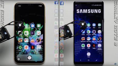 iPhone XR speed test 390x220 - بالفيديو.. مقارنة بين جوالي ايفون XR وسامسونج Note 9 من حيث السرعة، من سينتصر؟