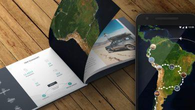 235493 Polarsteps Hero Travel Book Press fb8fd5 large 1485944027 390x220 - تطبيق Polarsteps لتتبع رحلاتك ومشاركة مسارك والمناطق التي تذهب اليها مع الاخرين