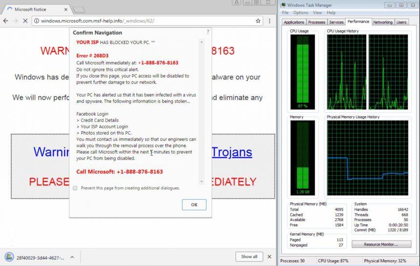 Exploit Edge e Explorer 860x545 - اكتشاف ثغرة بـ متصفح جوجل كروم تؤدي إلى تعليق أجهزة الويندوز.. وإليكم حلها