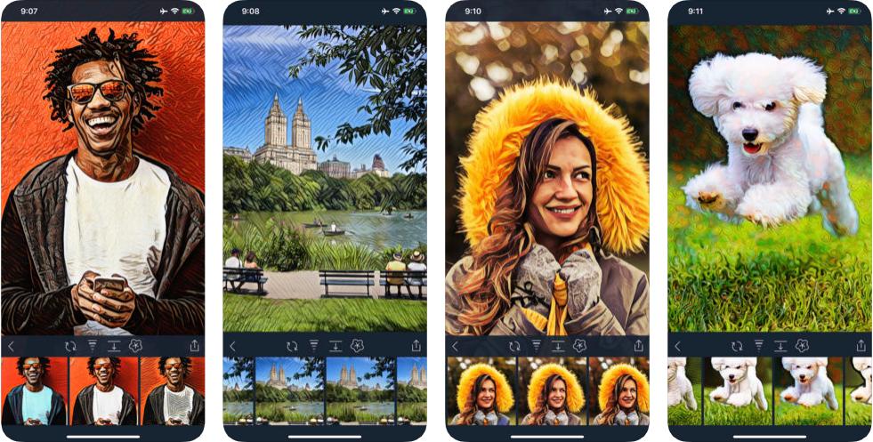 111 - حول صورك إلى أعمال فنية مذهلة بشكل احترافي باستخدام تطبيق Visionist