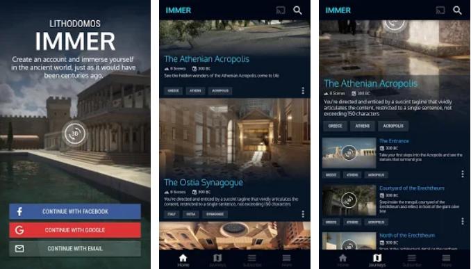 تطبيق Lithodomos Explore لاستكشاف حضارات العالم باستخدام تقنيات الواقع المعزز Screenshot-5.png