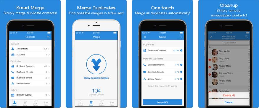 111 2 - تطبيق Smart Merge Pro لإدارة الأسماء وحذف الاسماء المكررة، يدعم اللغة العربية