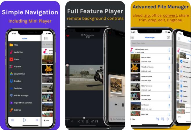 11111111111 - تطبيق FoxFM - File Manager لتحميل الفيديوهات من مواقع التواصل الاجتماعي