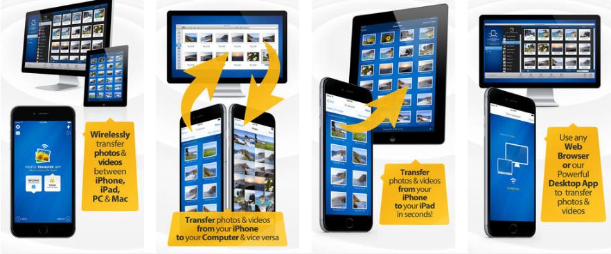 2 1 - تطبيق Photo Transfer App - Bitwise لنقل الصور من الجوال للكمبيوتر والعكس بسرعة كبيرة