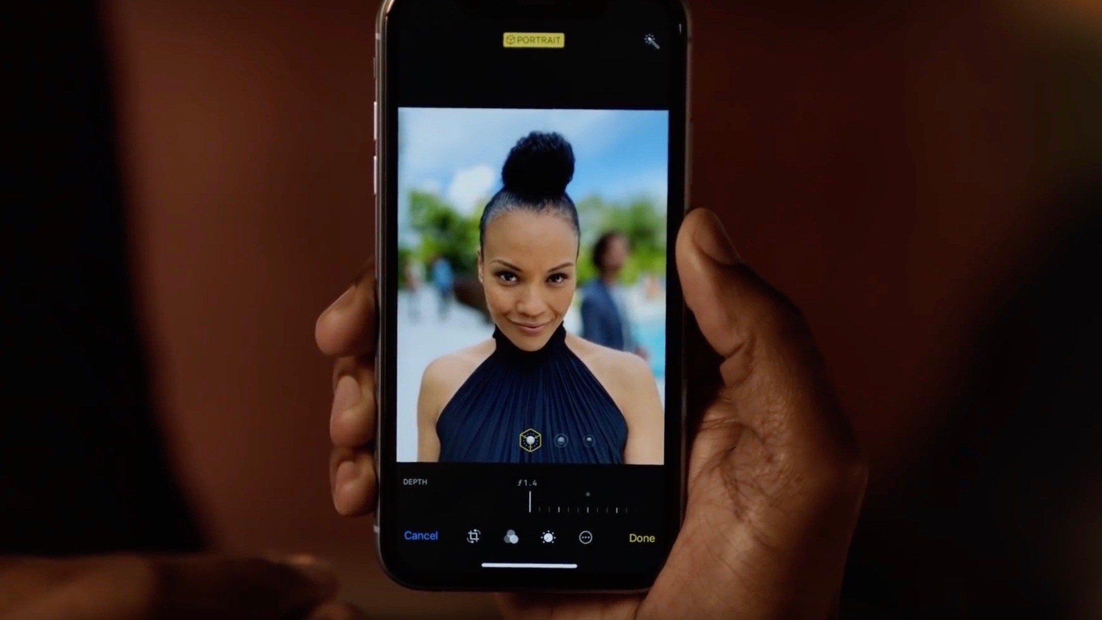 Portrait Mode Depth Control - ابل تطلق فيديو ترويجي جديد لـ ميزة التحكم في العمق بجوالات آيفون XR/XS