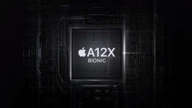 apple a12x bionic 390x220 - شركة ابل تعمل على رقاقة معالج Bionic جديدة بمعمارية 5 نانومتر لايفونات 2020