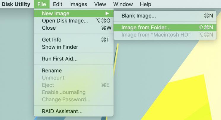 1 2 - بالصور.. تعرف على كيفية تشفير وحماية المجلدات بكلمة مرور على حاسب macOS