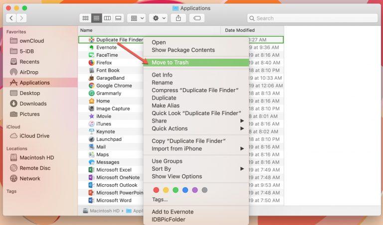 11 1 - بالصور.. تعرف على كيفية إلغاء تثبيت التطبيقات على حاسب macOS الخاص بك