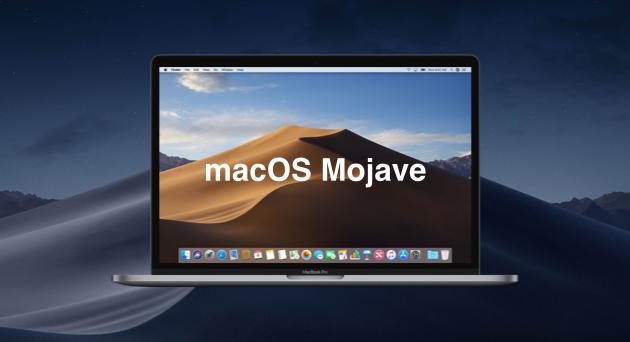 630 macos mojave - آبل تطلق رسمياً إصدار macOS Mojave 10.14.4 بدعم آبل نيوز بلس وغيره