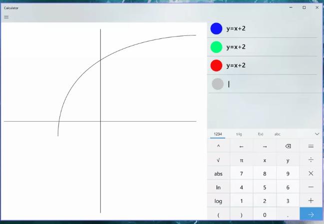 Capture 11 - ويندوز 10 يحصل على آلة حاسبة جديدة تدعم الرسوم البيانية للمعادلات وغيرها