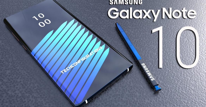Galaxy Note 10 leak 1170x610 - جوال سامسونج جالكسي نوت 10 يظهر لأول مرة في صور تخيلية ثلاثية الأبعاد