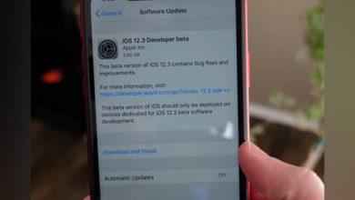 apple ios update 660 032919025613 390x220 - آبل تكشف عن أول إصدار تجريبي من نظام تشغيل iOS 12.3 موجه للمطورين