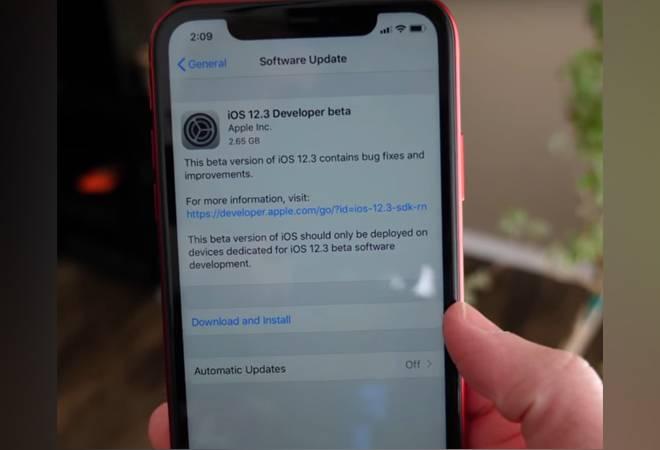 apple ios update 660 032919025613 - آبل تكشف عن أول إصدار تجريبي من نظام تشغيل iOS 12.3 موجه للمطورين