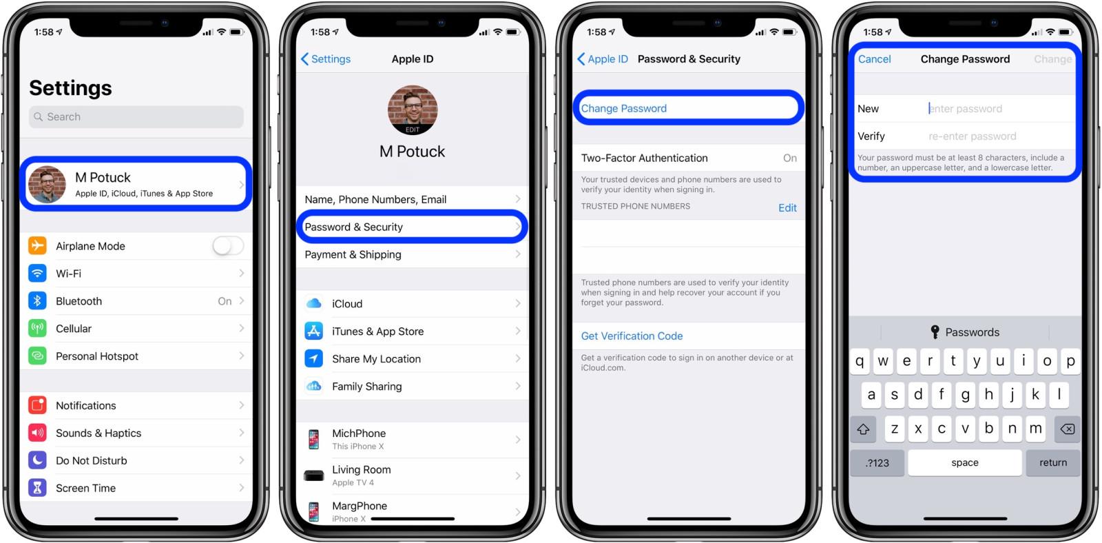 .jpg - بالصور.. تعرف على كيفية تغيير كلمة مرور حساب Apple ID على آيفون وآيباد