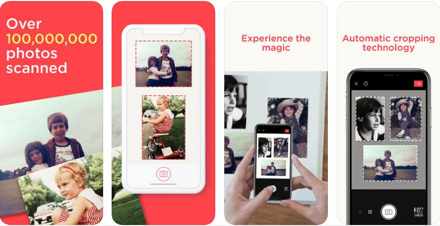 1 1 - تطبيق Photo Scanner by Photomyne لعمل سكانر للصور بجودة ممتازة وقص تلقائي