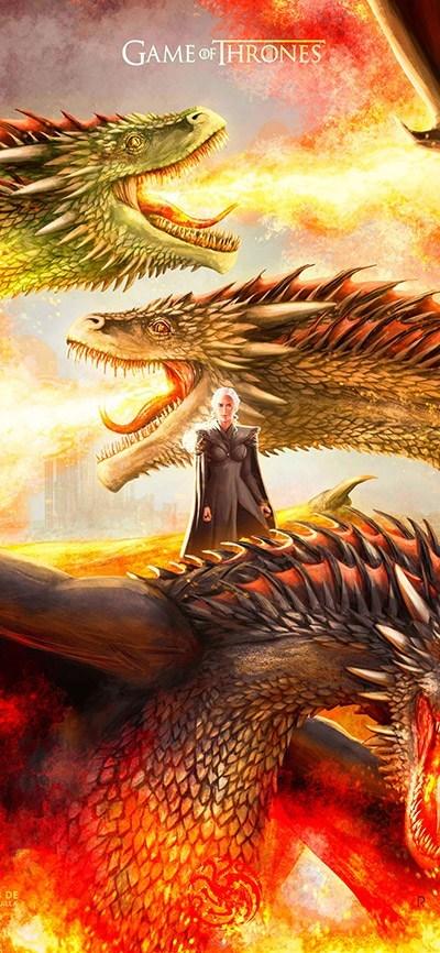 2 2 - تحميل خلفيات مسلسل Game of Thrones عالية الجودة متنوعة للهواتف