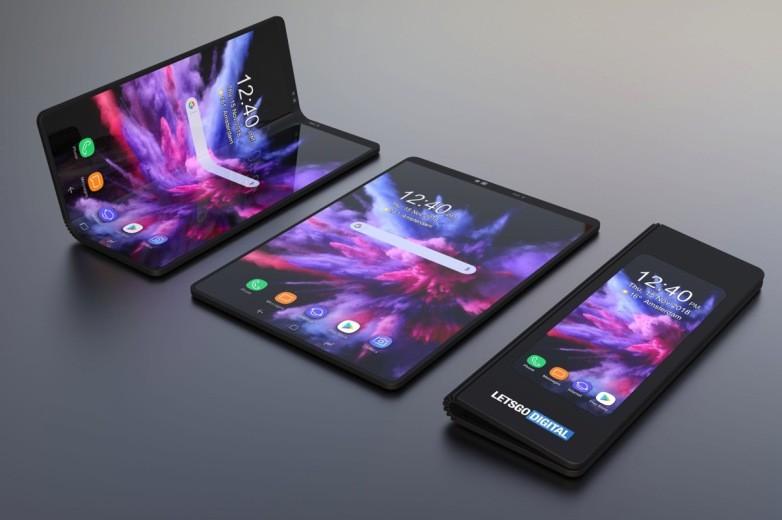 galaxy f foldable phone concept lets go digital 1 1 - بعد ظهور العديد من المشاكل به، سامسونج تقرر سحب جميع نسخ جالكسي فولد من الإعلاميين