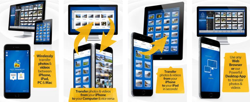 1 6 - تطبيق Photo Transfer App تنقل كل الصور والفيديوهات دفعه وحده من جهاز لجهاز