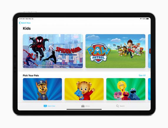 Apple TV Kids section - آبل تطلق تحديث iOS 12.3 للمستخدمين بمزايا جديدة وإصدار جديد من تطبيق آبل TV