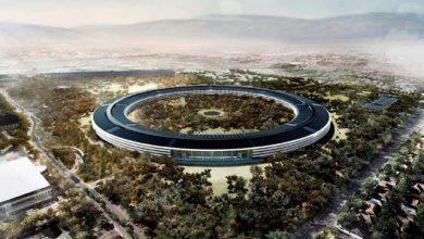 Apple Campus 2 rendering 390x220 - شاهد مقر آبل الجديد آبل بارك يظهر في فيديو مميز مصور بطائرة درون من أعلى
