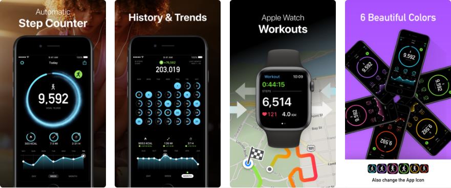 Screenshot - تطبيق StepsApp Pedometer لعد خطواتك بشكل دقيق في جوالات آيفون والأندرويد
