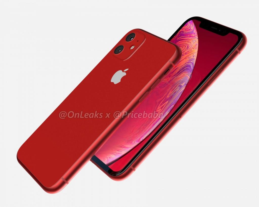 iPhone XR 2019 leak 1024x819 - جوال آيفون XR 2019 سيأتي بكاميرا مزدوجة وبإعداد كاميرا مربع بتصميم مميز