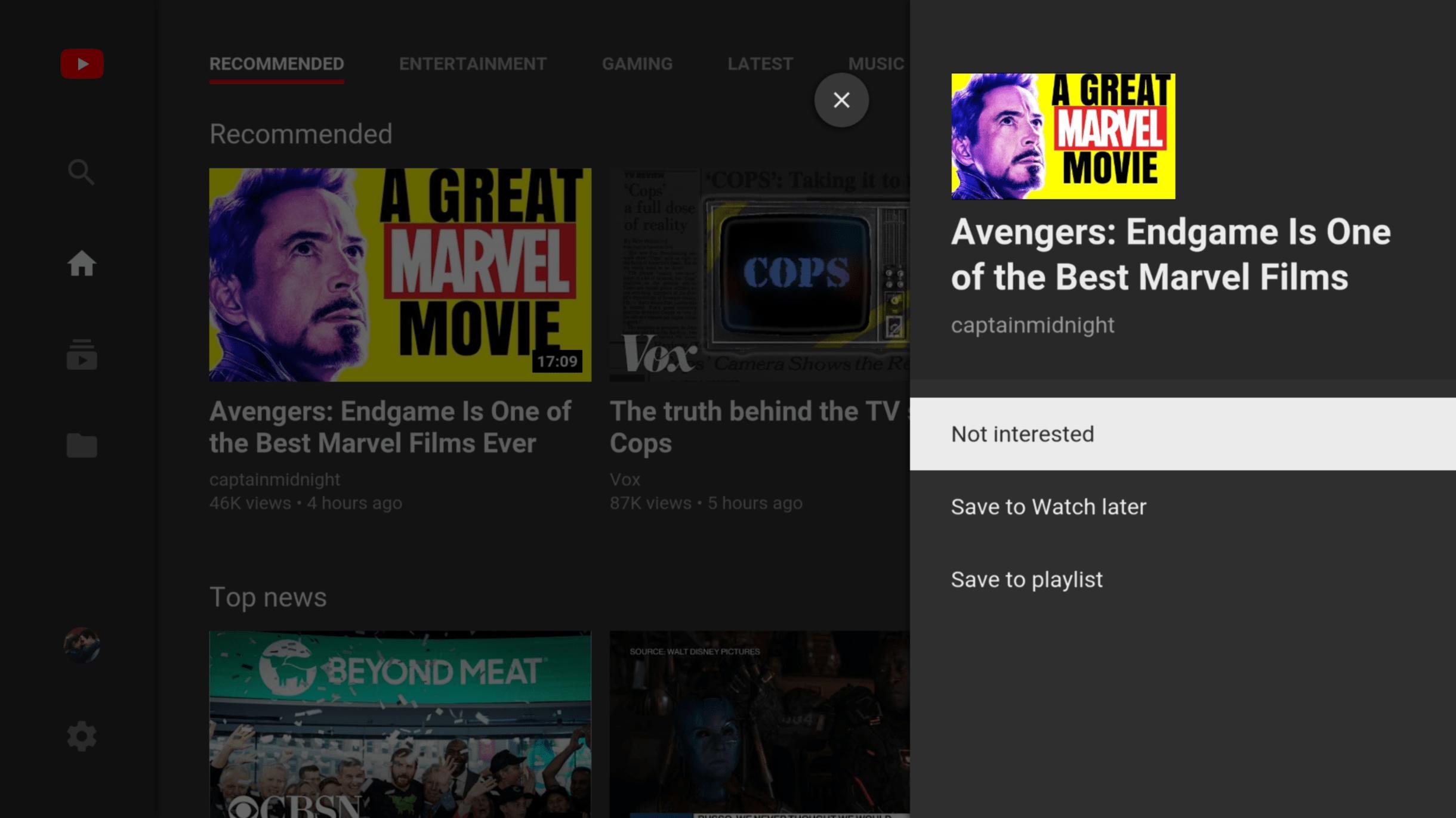 youtube tv - بعد طول انتظار.. تطبيق يوتيوب على التلفاز يدعم حفظ مقاطع الفيديو لمشاهدتها لاحقاً