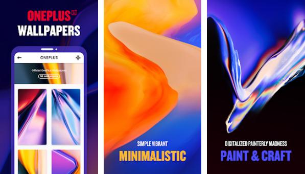 2 - تطبيق Abstruct - Wallpapers in 4K يحتوي على مئات الخلفيات بدقة 4K