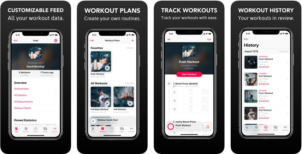22222 - تطبيق Gyminize Workout Tracker هو رفيقك الأمثل إذا كنت تريد ممارسة الرياضة