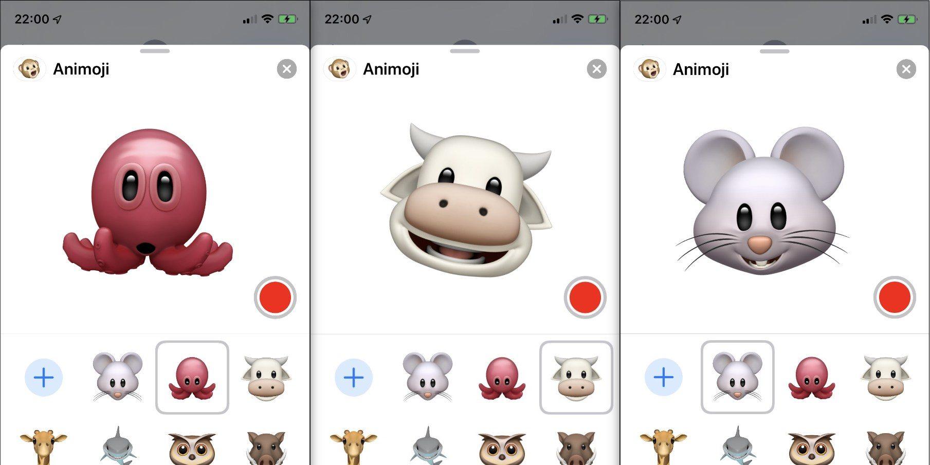 Animoji and Memoji Stickers - نظام تشغيل iOS 13 الجديد من آبل يحتوي على ثلاثة رموز Animoji جديدة مميزة