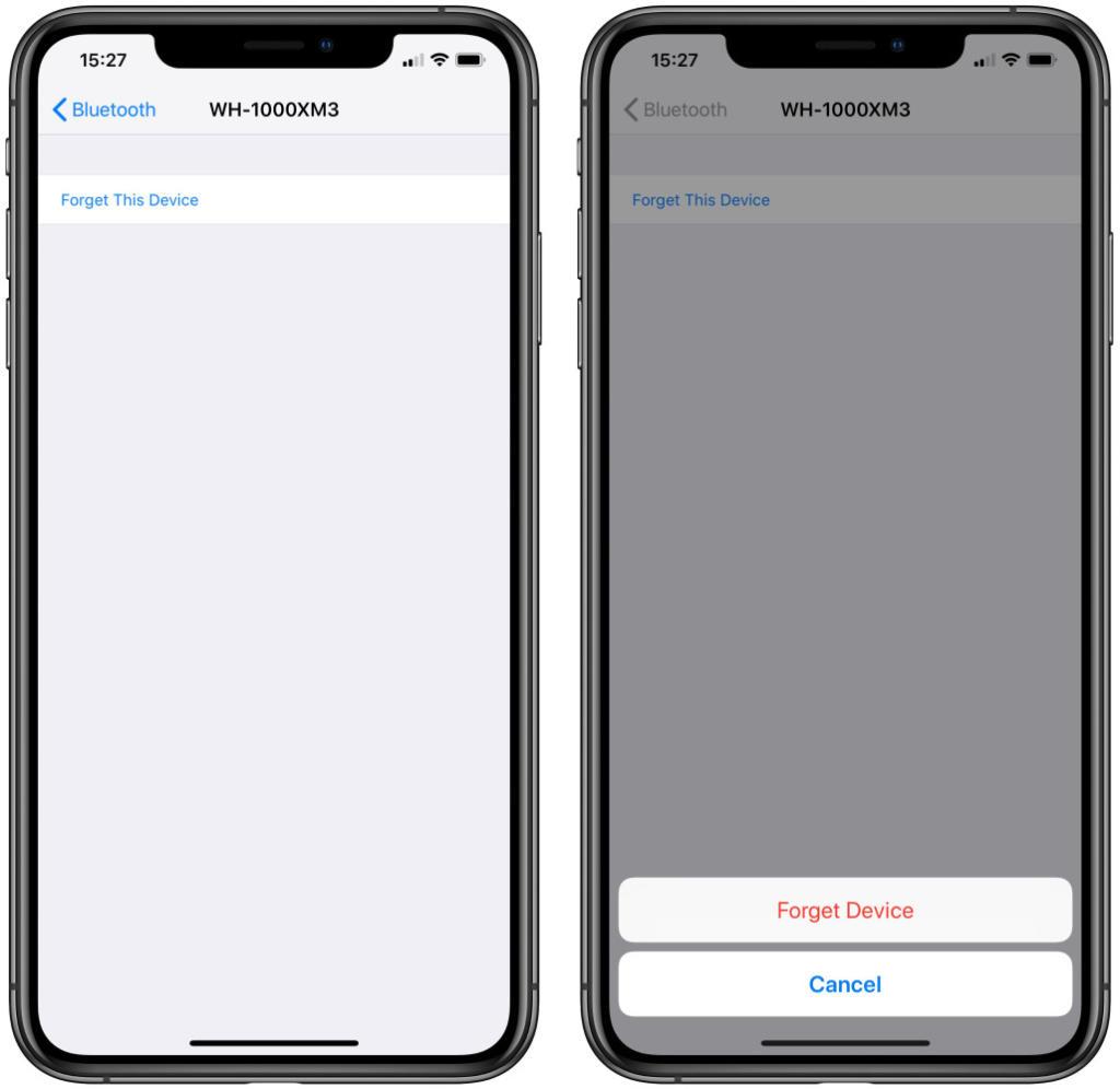 إقران أجهزة البلوتوث على iPhone وiPad 1024x996 - بالصور.. تعرف على كيفية إلغاء إقران أجهزة البلوتوث على كل من آيفون وآيباد