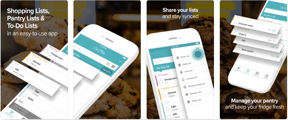 2 4 - تطبيق Out of Milk - Shopping List لتنظيم مشترياتك ومتابعتها وتكوين قوائم منظمة
