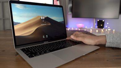 2018 MacBook Air Touch ID 390x220 - آبل تكشف عن حاسب 2019 Retina MacBook Air بسعر مخفض وتقنية إضافية