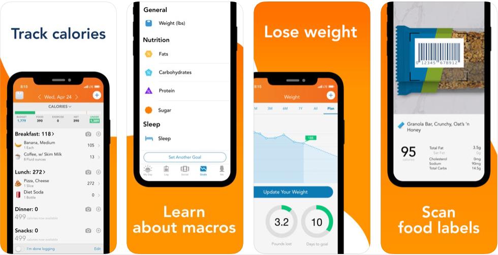 44 - تطبيق Lose It! – Calorie Counter لخسارة الوزن بسهولة وأمان باتباع أنظمة صحية مناسبة
