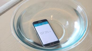 Samsung in court over misleading Galaxy Phone ads 390x220 - دعوى قضائية من لجنة حماية المستهلك على سامسونج بخصوص ميزة مقاومة الماء بجوالاتها