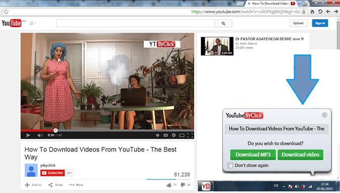 1 5 - بالصور.. تعرف على كيفية تحميل جميع فيديوهات قنوات اليوتيوب بضغطة واحدة فقط