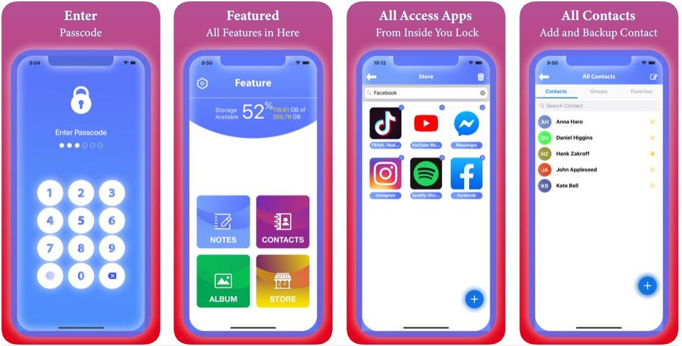 11 3 - تطبيق Lock App لحفظ صورك وفيديوهاتك وغيرهم في مكان سري وإغلاقهم بباسوورد