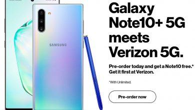 Galaxy Note 10 5G 390x220 - سامسونج ستتيح شراء جوال جالكسي نوت 10+ 5G في هذا الموعد وبهذا السعر