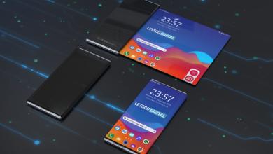LG rollable smartphone render 1170x610 390x220 - LG تسجل براءة اختراع جديدة لجوال يمتلك شاشة تدعم الطي في أفقياً ورأسياً