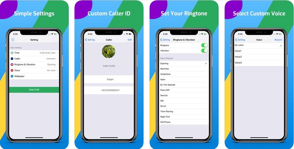 22 2 - تطبيق Fake Call Prank - Fun تستطيع من خلاله صنع مكالمة وهمية كأن وصلك اتصال