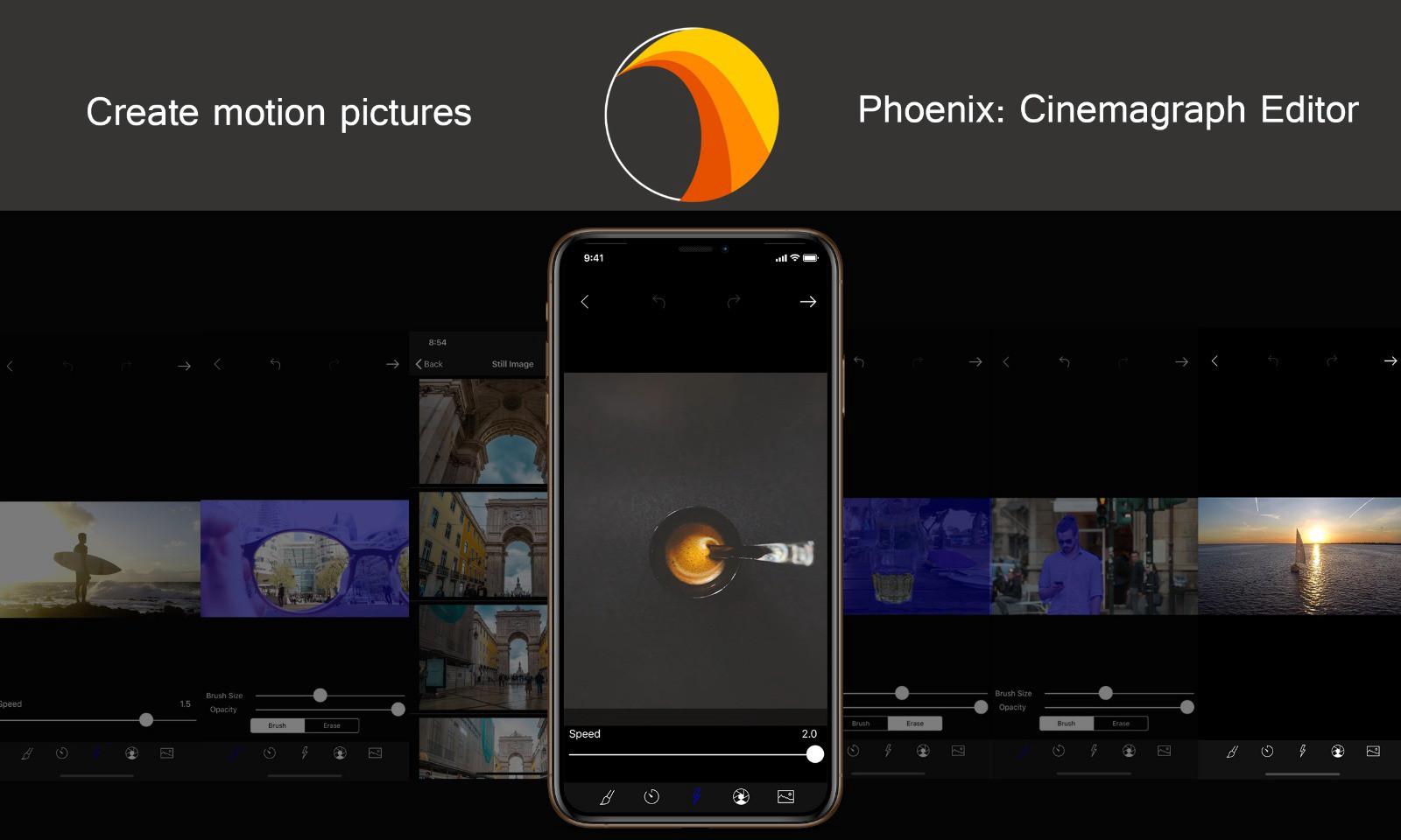 1 cq7vioUahBPsEtwp4Z8mQg - تطبيق Phoenix لتحرير الفيديو وجعل بعض أجزاء المشهد متحركة والأخرى ثابتة