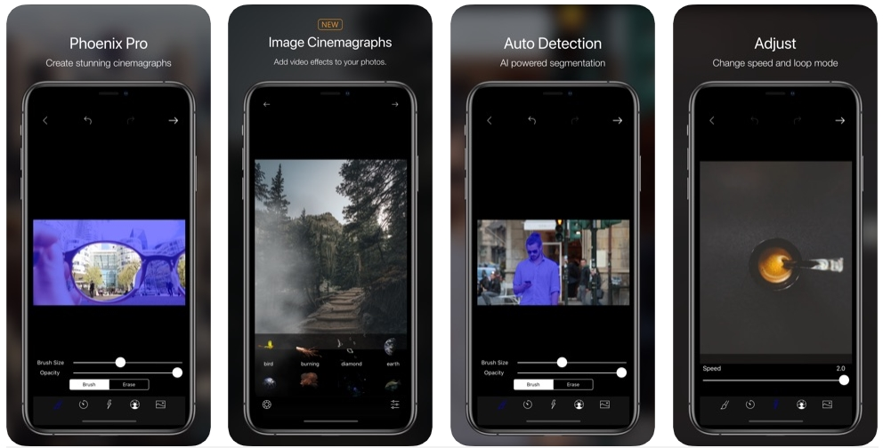 2019 10 05 01 49 58 Window - تطبيق Phoenix لتحرير الفيديو وجعل بعض أجزاء المشهد متحركة والأخرى ثابتة