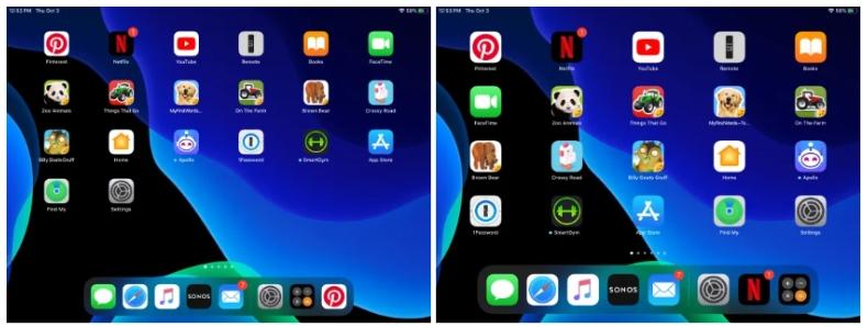 2019 10 09 02 21 27 Window - طريقة تغيير حجم الخط وأيقونات التطبيقات على أجهزة آيباد بعد تحديث iPadOS 13