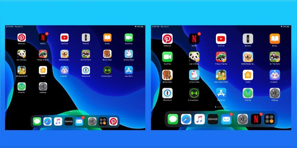 iPadOS 13 - طريقة تغيير حجم الخط وأيقونات التطبيقات على أجهزة آيباد بعد تحديث iPadOS 13