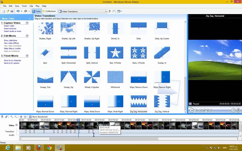 برنامج عمل فيديو من الصور مع اغنية للكمبيوتر مجانا